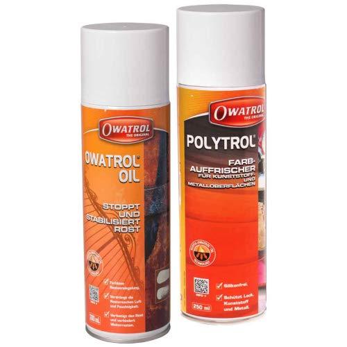 Owatrol oil + poytrol Spray Set