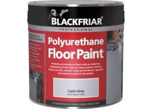 PAINT Blackfriar polyurethane for exterior or interior use ...