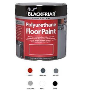 PINTURA para suelos de poliuretano Blackfriar para uso en exteriores ...