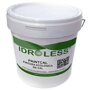 Paintcal: pintura de cal ecológica impermeable Idroless - 5 ...
