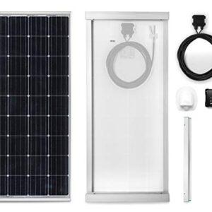 Panel solar monocristalino de 170W para Camper. Kit completo de ...