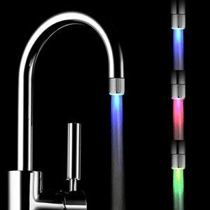 Paquete de 2 llaves de agua LED de colores con 3 colores que cambian ...
