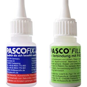 Pasco Fix Set de 2 20 g Fair Set. CONSTA DE 1 x Pasco Fix ...