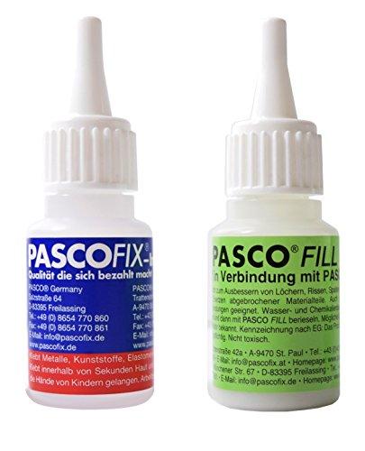 Pasco Fix Set de 2 20 g Fair Set. CONSTA DE 1 x Pasco Fix ...
