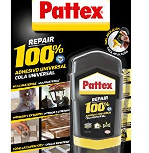 Pattex 100%, pegamento multimaterial transparente, botella 5 ...