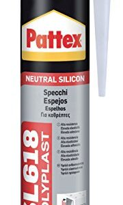 Pattex 1535859 SL 618 serramenti y trabajo, 300 ml, transparente ...