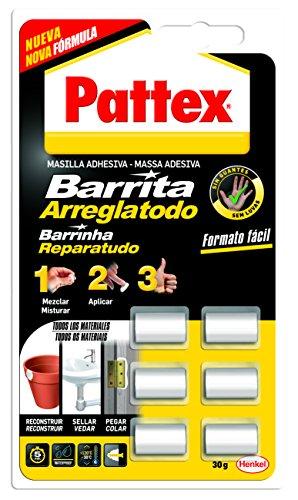 Pattex Bar arreglado, sellos de masilla adhesiva, palos, mo ...