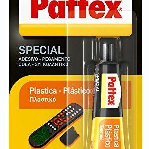 Pattex Glue para plástico transparente, resistente a ...