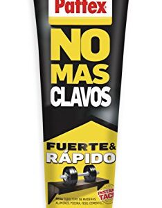 Pattex No More Nails Original, adhesivo de montaje resistente ...
