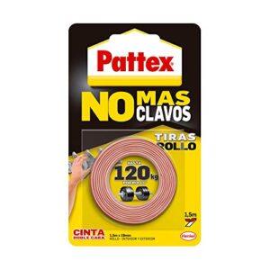 Pattex No más clavos - Rollo de cinta de doble cara, fijación ...