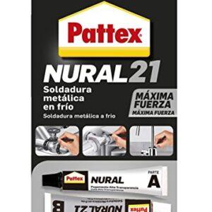 Pattex Nural 21, soldadura de reparación de metal frío, pegamento ...