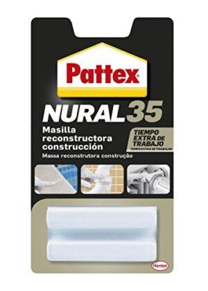 Pattex Nural 35, masilla de reconstrucción de metal, color bl ...