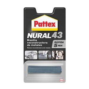 Pattex Nural 43 Masilla de reconstrucción de metal, masilla para ...