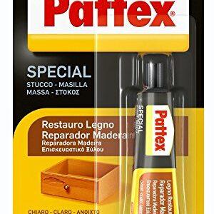 Pattex Reparador para maderas ligeras de fuerte y rápido secado ...