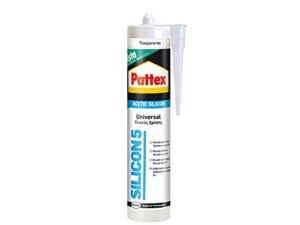 Pattex Universal Acid Silicona Transparente Ideal Aluminio ...