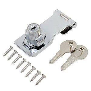Perno de bloqueo Hseamall con cerradura de llave de 3 pulgadas ...