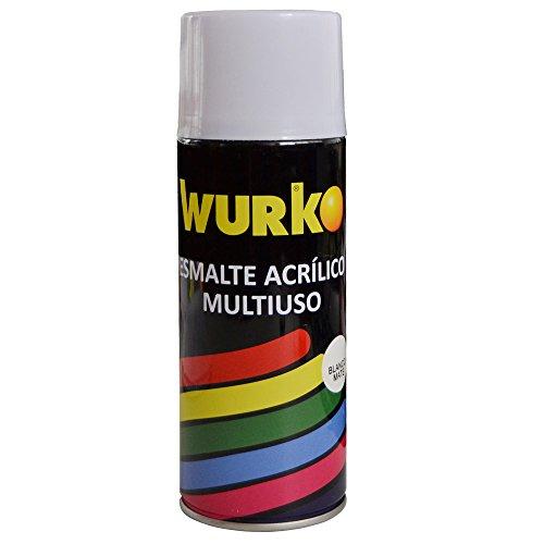 Pintura en aerosol Wurko 9193, blanca