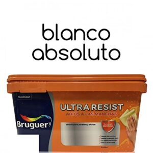 Pintura interior Bruguer Ultra Resist Absolute White 4 Lt