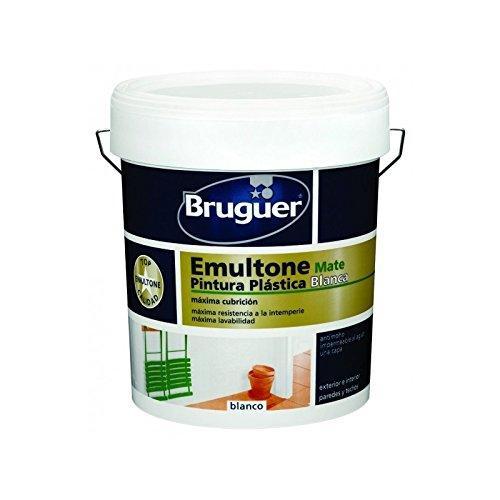 Pintura plástica emultone blanco mate 750 ml