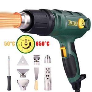 Pistola de aire caliente TECCPO 2000W, 50-650 ℃ de alta potencia ...