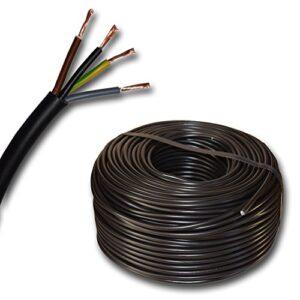 Plástico - Tubo redondo Dispositivo de cable LED Cable (h03vv-f ...