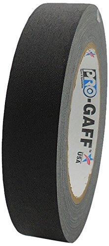 Pro-Gaff RS161BK24X25 24 mm x 25 yd Cinta de tela mate