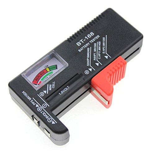 Probador de batería universal para pila de botón AA AAA