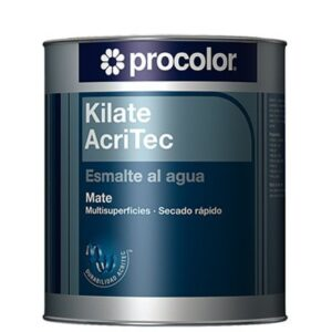 Procolor-Kilate Acritec agua mate esmalte blanco 250 ml