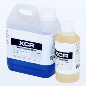 Profesional XCR UltraClear Transparente UV 1kg Resina Epoxi