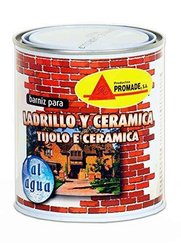 Promade - 750 ml de barniz de ladrillo de agua (750 ml)