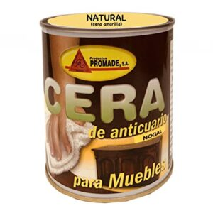 Promade - Cera preparada para muebles 750 ml (Natural)
