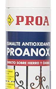 Pulverización directa sobre óxido de proanox