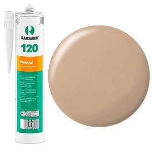 Ramsauer 120 - Sellador neutro de silicona, beige