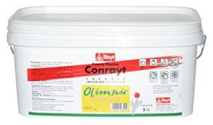 Rayt 268-20 Monocapa de pintura plástica blanca para interiores y ...