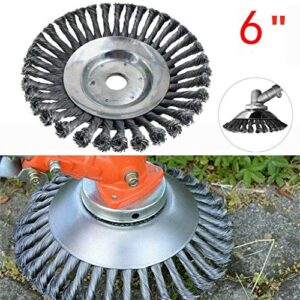 "Reeseiy 6 ""8"" Razor Weed Trimmer Head Garden Trim Chic Brush ..."