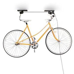Relaxdays Suspensión de soporte de bicicleta