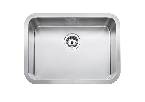 Roca A870A10550 - Sink with 1 stainless steel bowl, ...