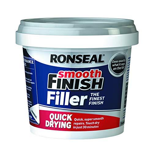 Ronseal 36553 - Pared de mezcla de acabado rápido, liso y listo para ...