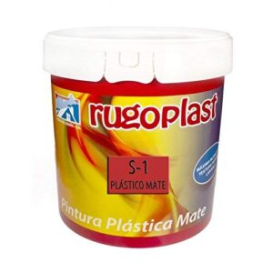 Rugoplast - S-1 económica pintura plástica blanca mate para ...