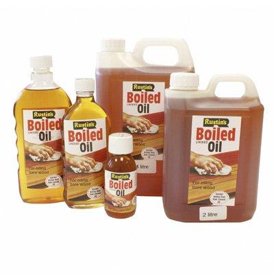 Rustins BOIL2000 - Aceite de linaza hervido (2 l), transparente ...