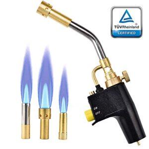 S SMAUTOP Control de flujo de antorcha de gas Mapp multipropósito ...