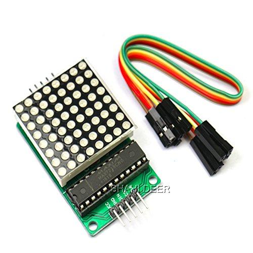 SHAHIDEER Matrix Module LED 8x8 Matrix Red Dot para Raspb ...