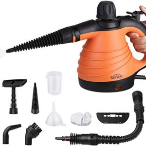 SIMBR Handheld Steam Cleaner Portable and Manual Steamer ...