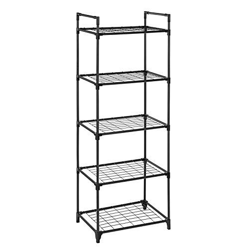 SONGMICS Estante de 5 niveles, armario de almacenamiento, ...