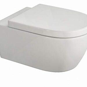 SSWW - Inodoro de diseño (en pared, autolimpiante, que incluye ...