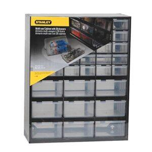 STANLEY 1-93-981 Caja de almacenamiento con 39 compartimentos ...