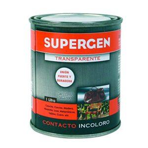 SUPERGEN Adhesivo de contacto incoloro (bote 1L)
