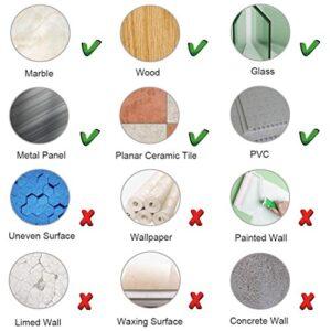 SUSHJA 4 piezas ganchos adhesivos, toallero pared ...