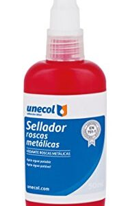 Sellador Unecol 8637 para hilos metálicos (tubo flexible), ...