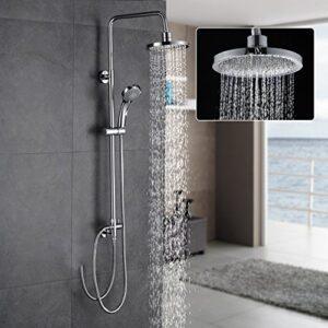 Set de ducha AuraLum sin pared de grifo, set de ducha extenso ...